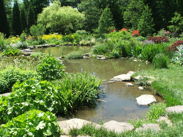 Backyard Ponds Pictures : Chanticleer  A Personal Garden