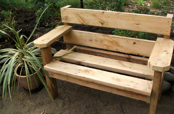Woodworking simple garden bench plans free PDF Free Download