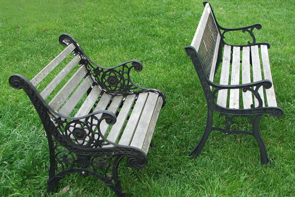 Second Hand Garden Benches