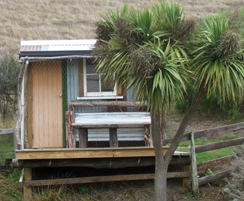 This shed was called 'The Chook House'.