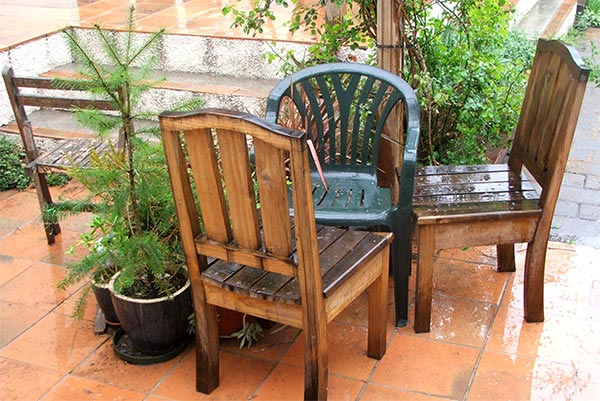 But the rain is good for the garden...