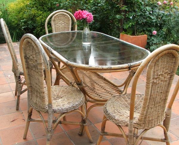 Cane Patio Furniture