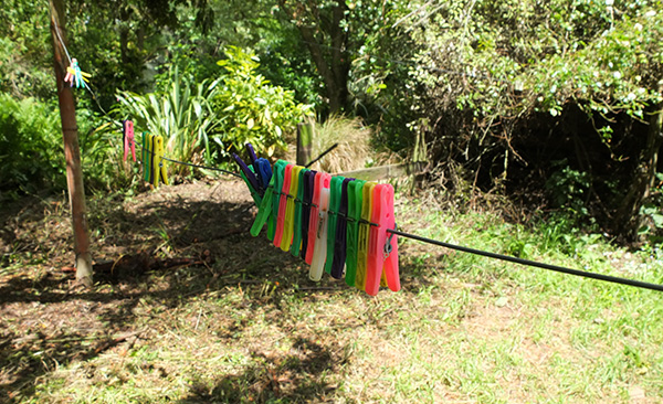 Suddenly my washing line is sunny again!