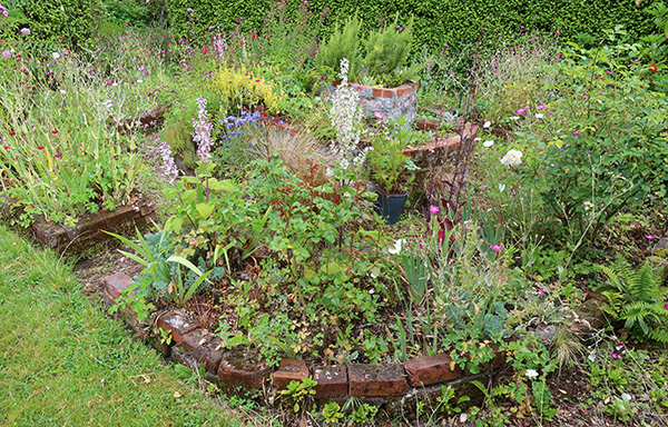 Needs a new, refreshed planting plan!