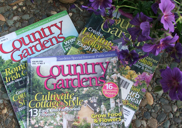 Country gardens magazines