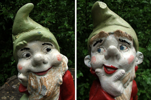 Garden Gnomes In The Shrubbery